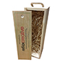 1 bottle wine box or champagne box.